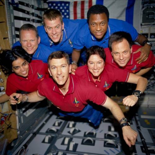 The STS 107 Crew